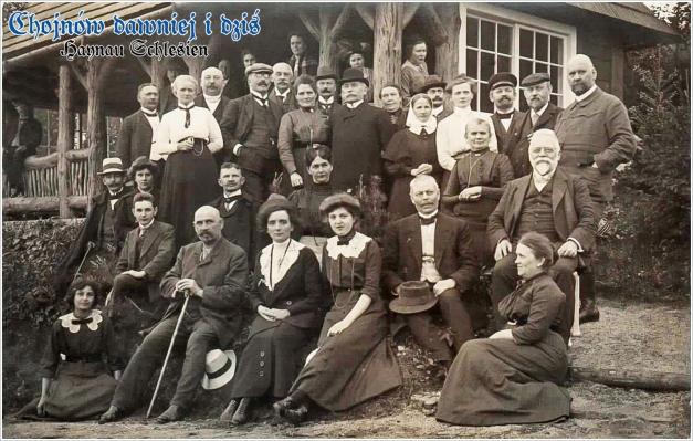 Gruppenbild Stempel Haynau 1912
